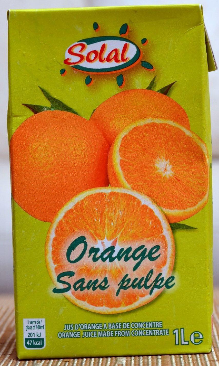 Jus d'orange 1L - Product