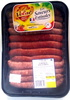 Saucisses de volailles assorties (x 12) - Product