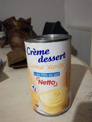 Netto Creme Dessert Saveur Vanille - Produit - fr