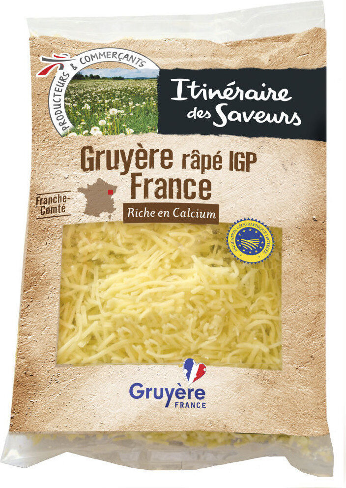 Gruyère râpé igp france - Produit - fr