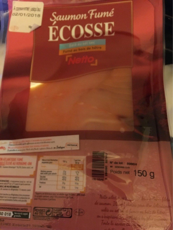 saumon fumé ecosse - 150g - Product - fr