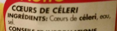 Coeur de celeri - Ingredients