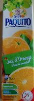 Paquito Orange - Product - fr