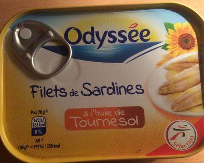 Filets de Sardines à l'Huile de Tournesol - Informations nutritionnelles
