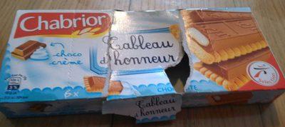 Tableau d'honneur choco crème - Product