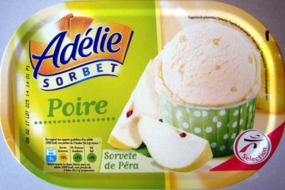 Sorbet poire Adélie - Produit - fr