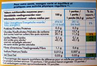 Sorbet poire Adélie - Informations nutritionnelles - fr