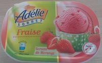 Sorbet Adelie fraise - Product - fr