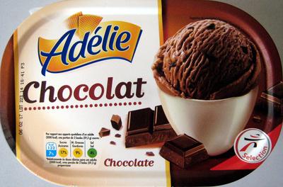 Crème glacée chocolat Adélie - Produit