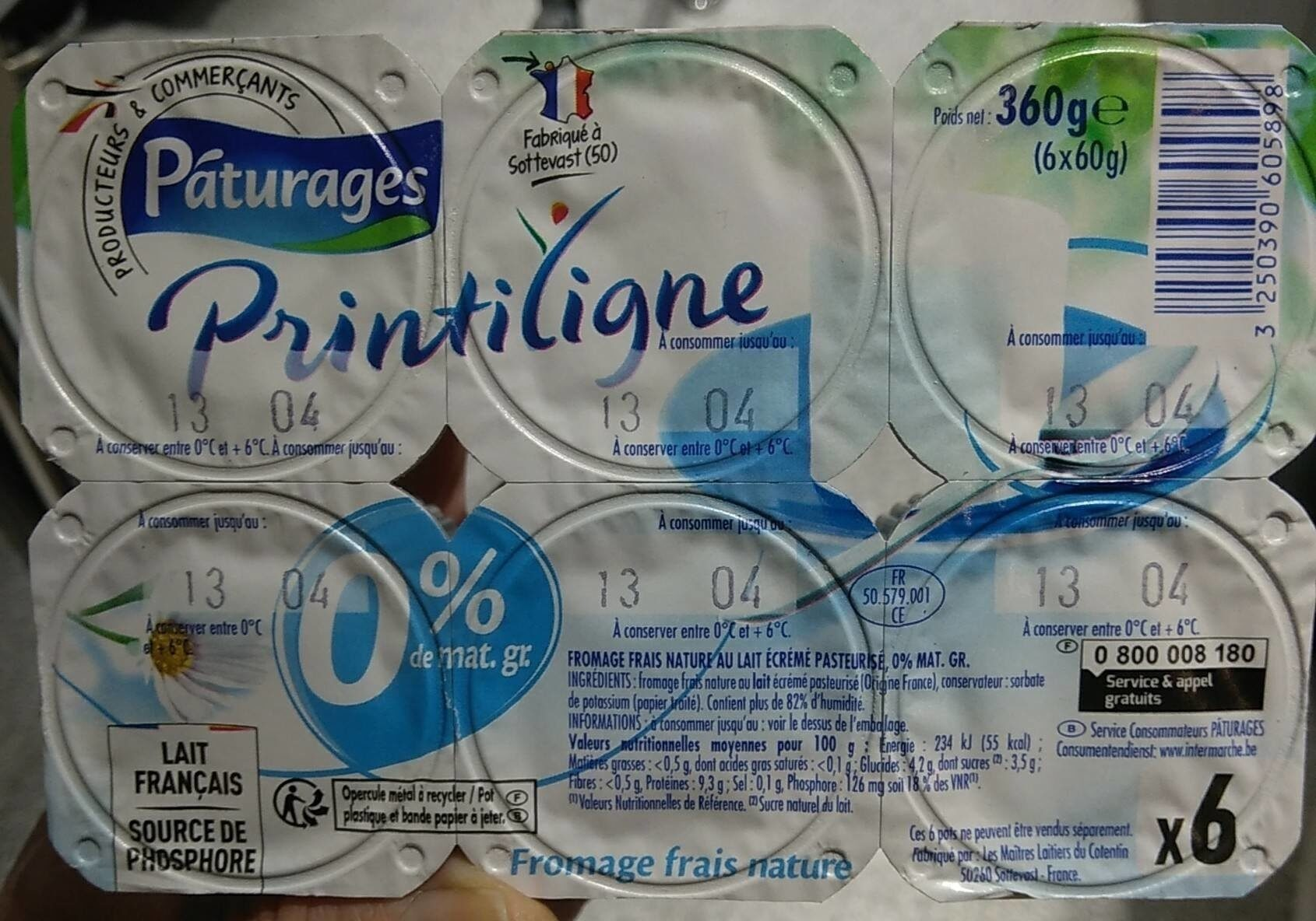 Fromage frais 0% de matière grasse - Product - fr