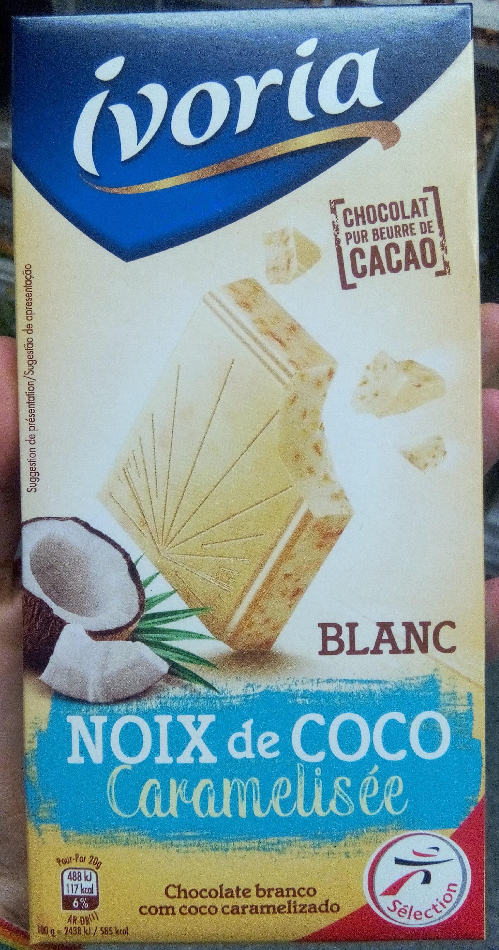 Blanc Noix de Coco Caramélisée - Product