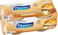 Crème aux œufs - Produit - fr