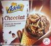 Cornet glace pépites de chocolat et nougatine - Product