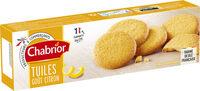 Tuiles saveur citron - Produit - fr