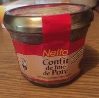 Confit de foie de porc verrine - Product