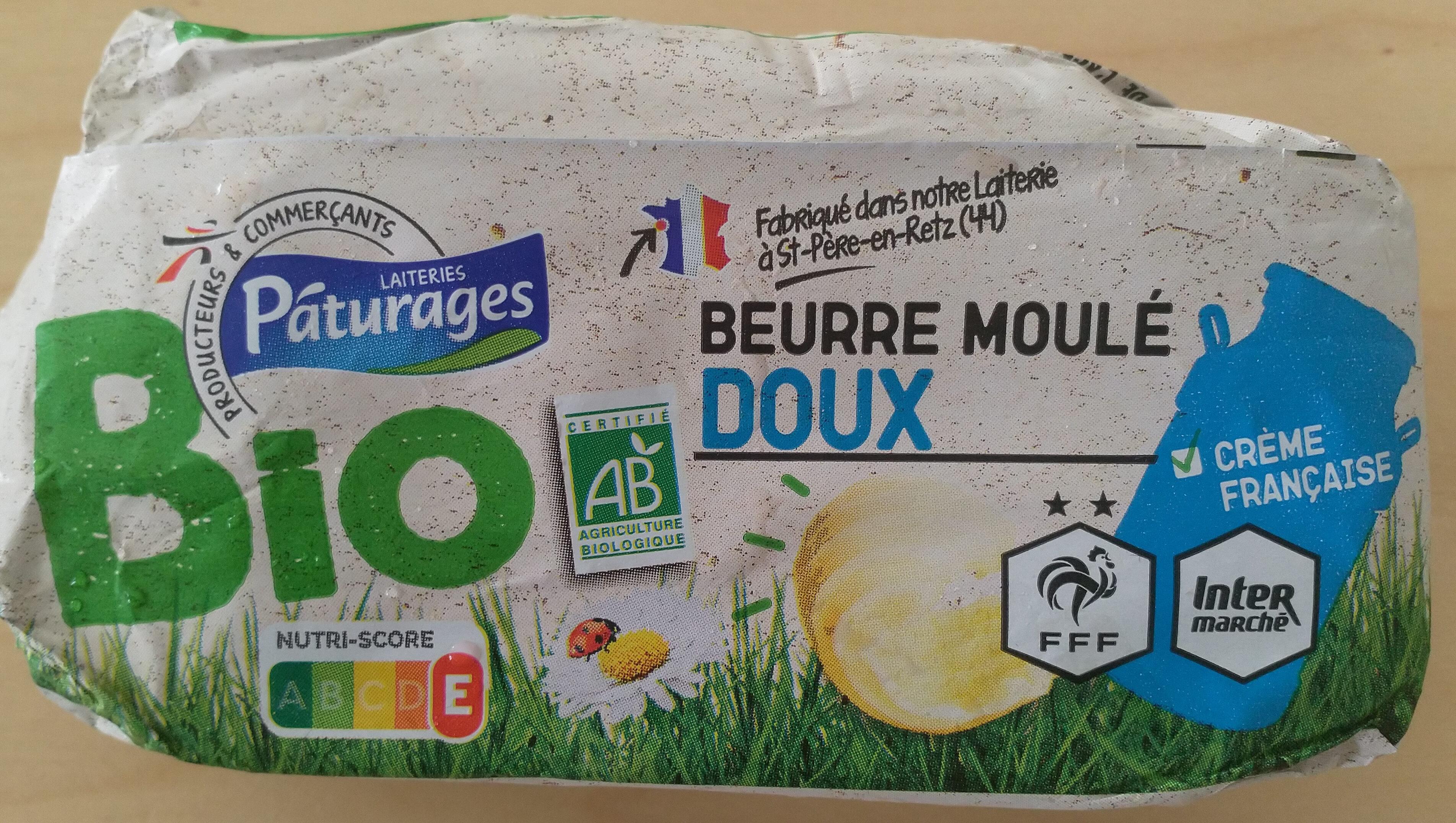 Beurre Moulé Doux (82 % MG) - Produit - fr