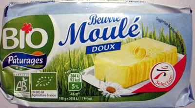 Beurre Moulé Doux (82 % MG) - Product