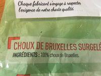 Netto Choux De Bruxelles Surgele - Ingrédients