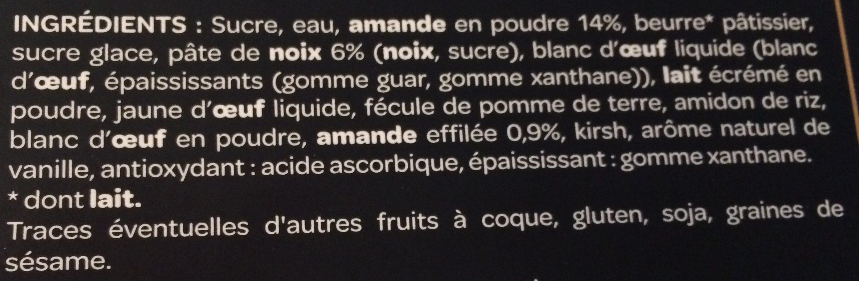 Le Succès aux Noix - Ingrédients - fr