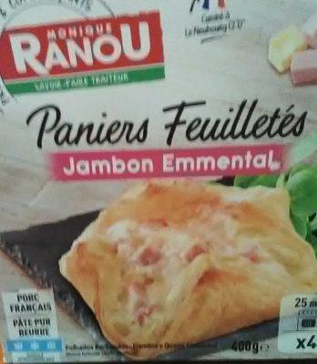 Paniers Feuilletés Jambon Emmental - Produit
