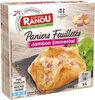 Paniers feuilletés jambon emmental - Produto