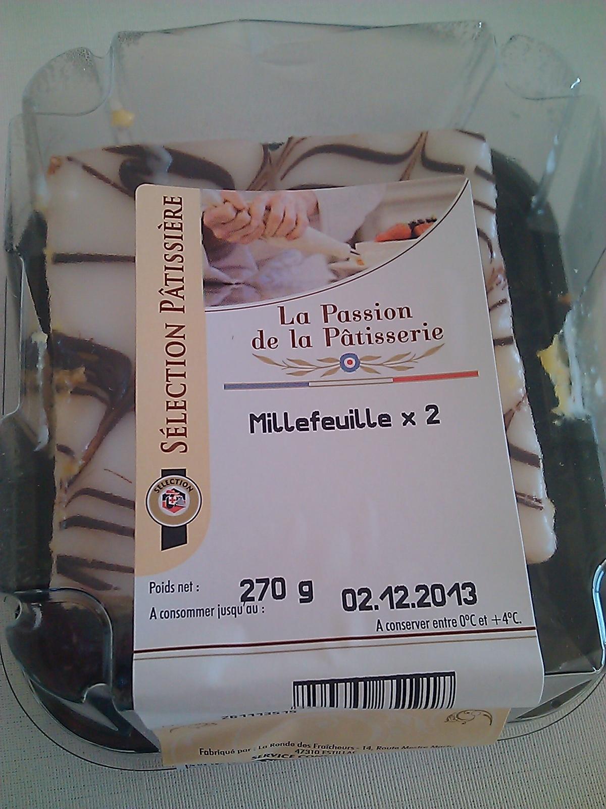 Millefeuille x 2 - Produit - fr