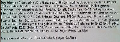Millefeuille x 2 - Ingrédients - fr