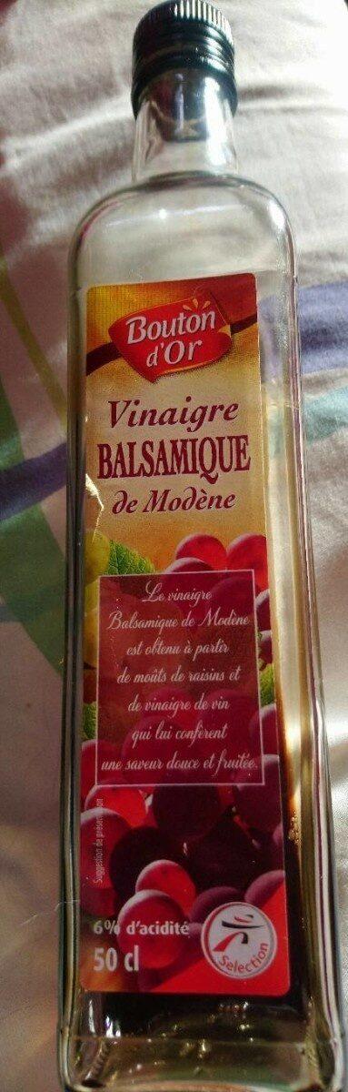 Vinaigre balsamique de Modène - Product - fr