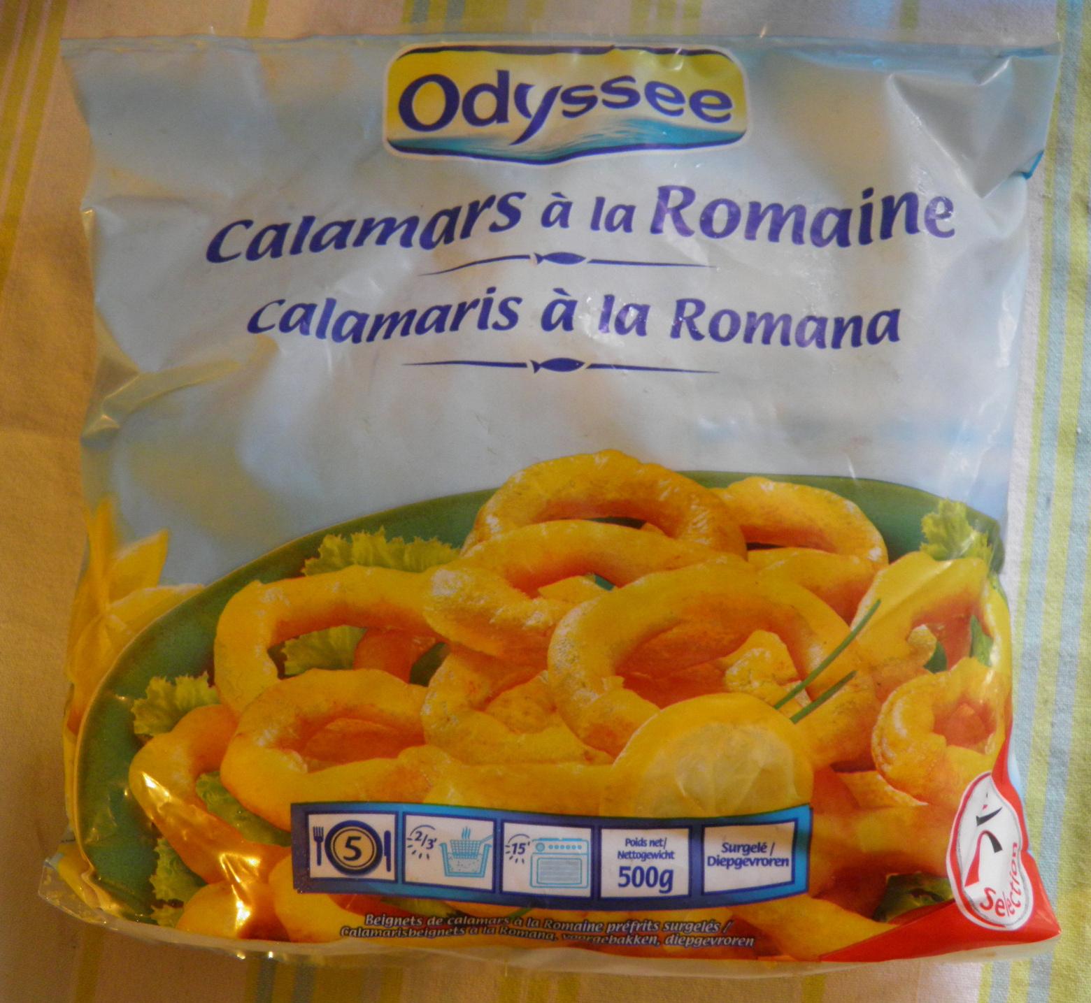 Calamars à la Romaine Odyssée - Produit - fr