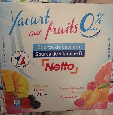 Yaourt aux fruits - Product