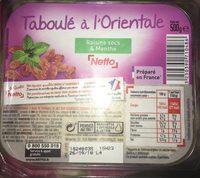 Taboulé à l'orientale - Produit - fr