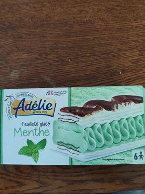 Glace Menthe Avec Pâte à Glacer Au Cacao Et Copeaux De Chocolat Blanc - Product - fr