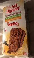 Biscuits pour le petit déjeuner - Pépites de chocolat & cacao - Product - fr