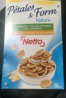 Céréales Pétales de riz, blé complet et orge - Produit - fr