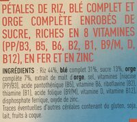 Pétales & form' nature 375g - Ingredients - fr