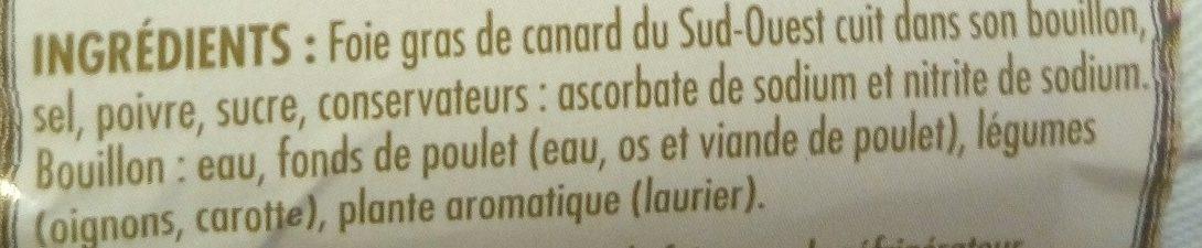 Itinéraire des saveurs - Ingredients - fr