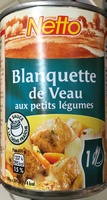 Blanquette de Veau aux petits légumes sauce à la crème fraiche - Produit - fr
