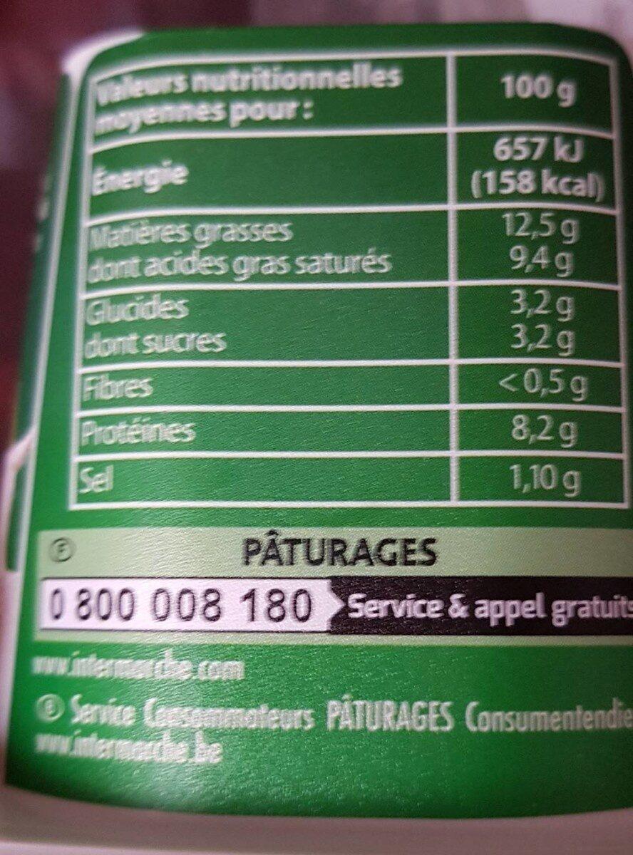 La Pyramide - Informations nutritionnelles - fr