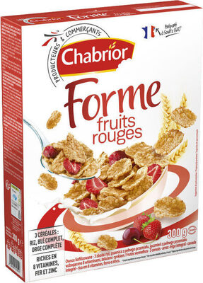 Céréales forme fruits rouges - Product - fr