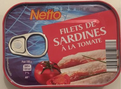 Netto flt Sardine Tomate - Produit