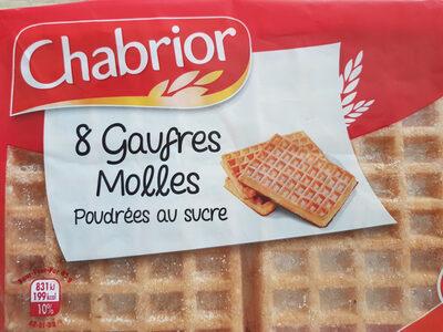 8 Gaufres Molles Poudrées au sucre - Voedingswaarden - fr