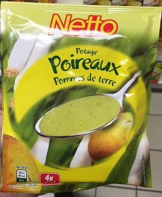Potage Poireaux Pommes de terre - Produit - fr