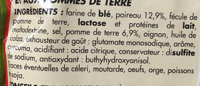 Potage Poireaux Pommes de terre - Ingrédients - fr