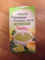 Velouté  poireaux pommes de terre - Product - fr