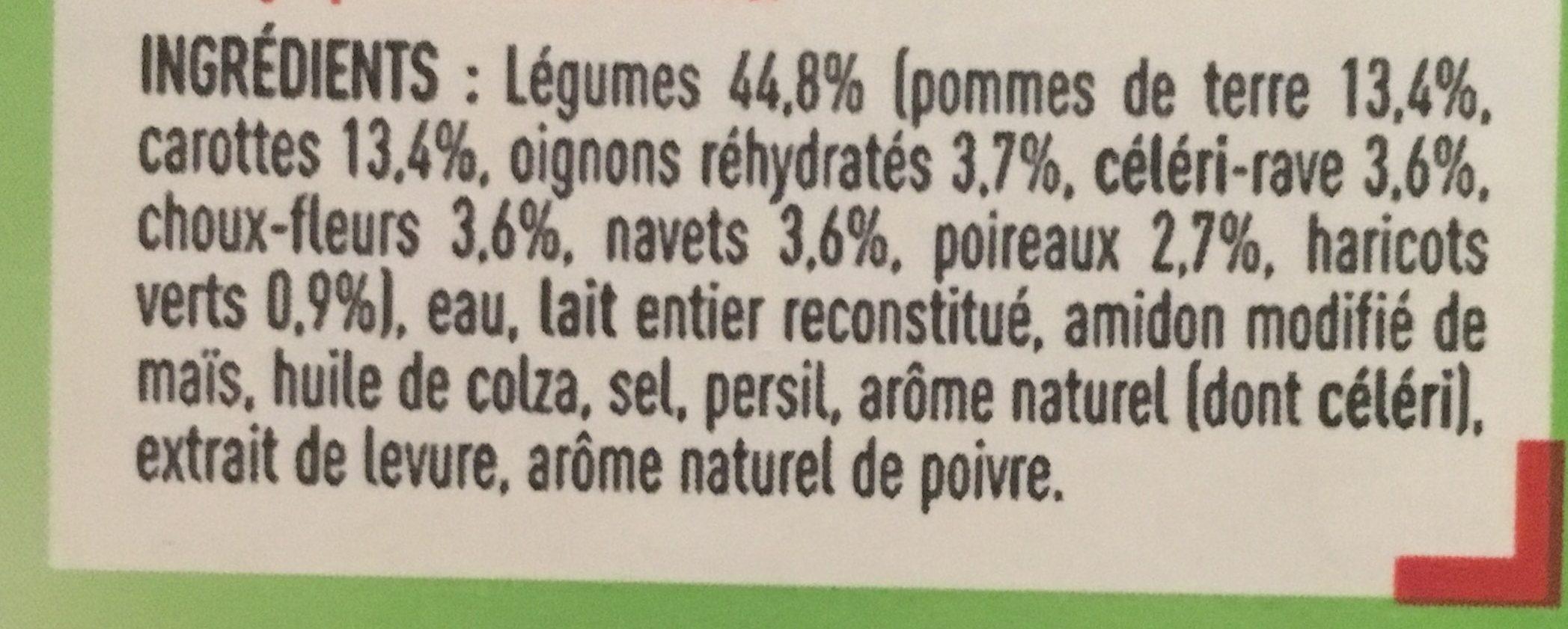 Mouliné de légumes variés - Ingrediënten - fr