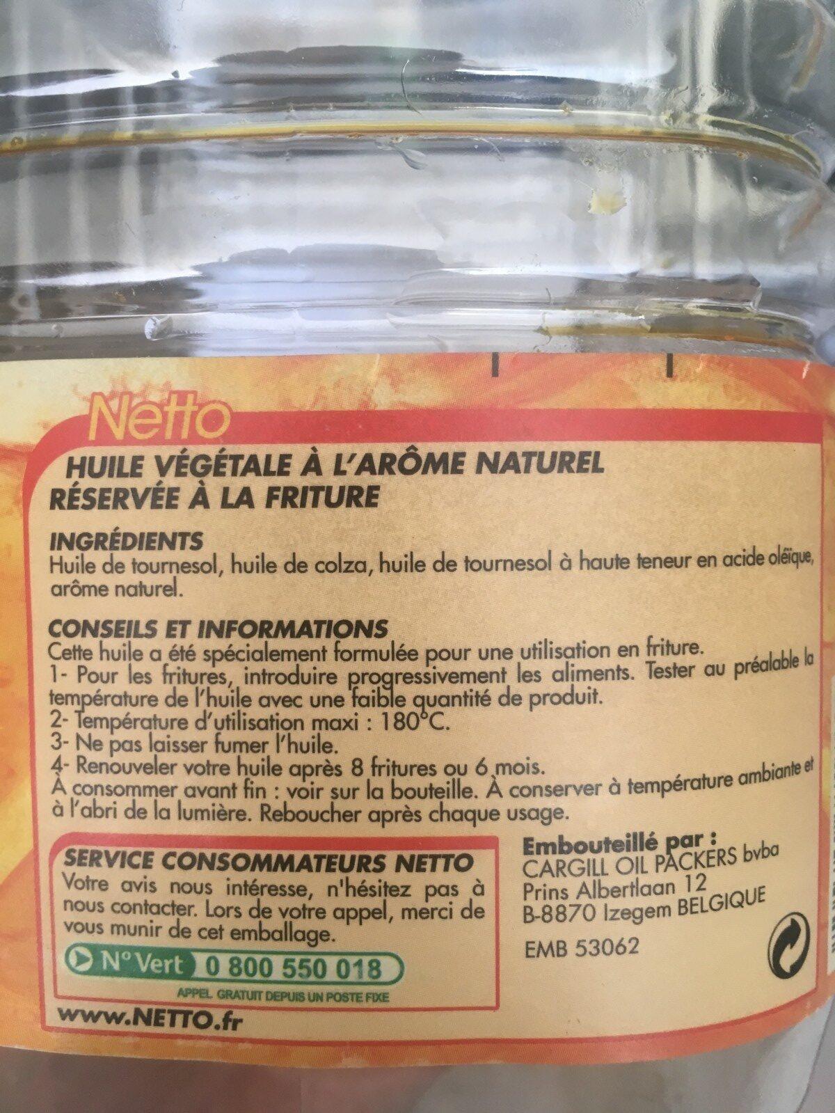 Huile De Friture - Ingredienti - fr