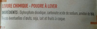 Netto Levure Chimique 6* - Ingredienti - fr