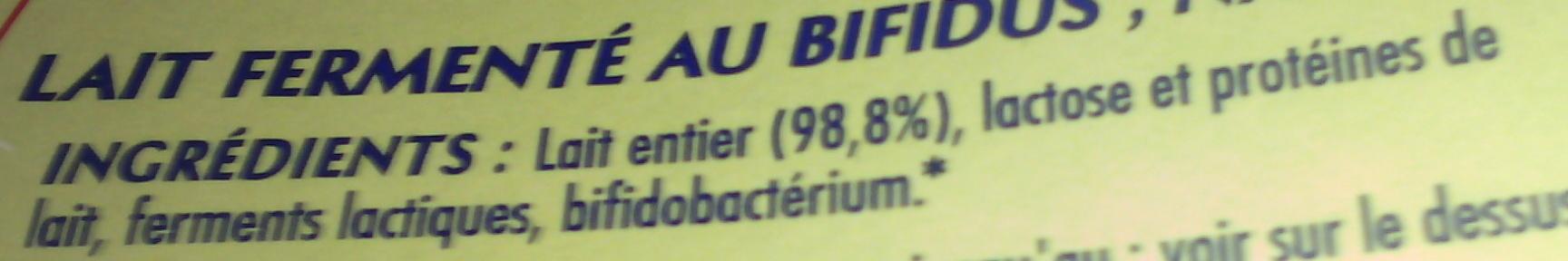 Bifidus nature (12 Pots) - Ingrediënten