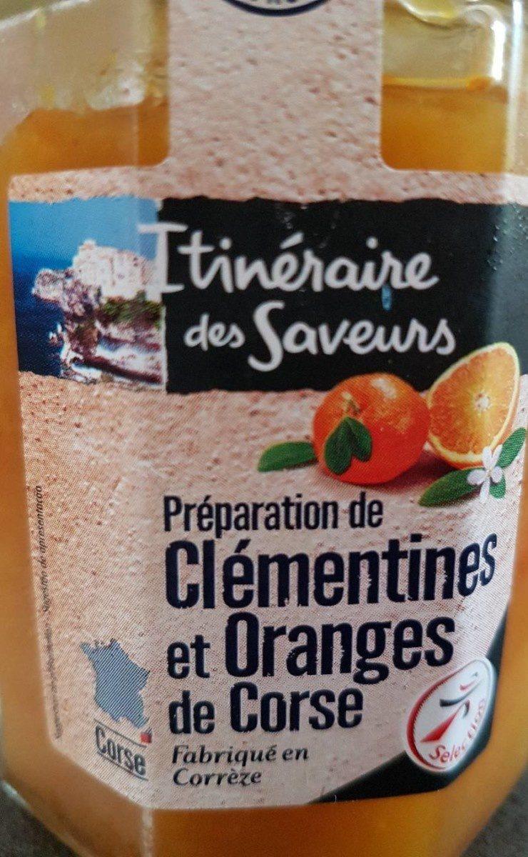 Préparation de clémentines et oranges de Corse - Product