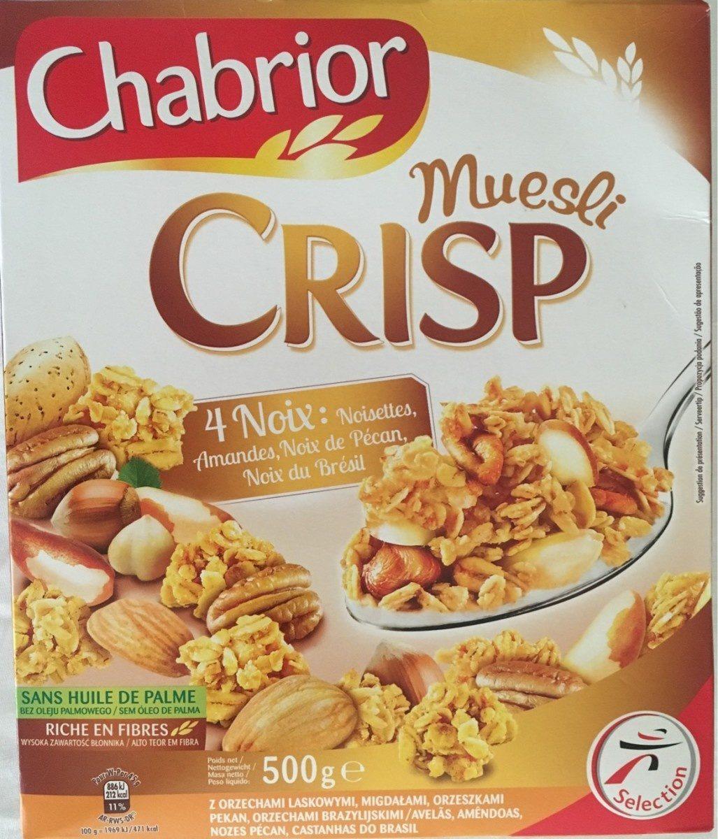 Muesli Crisp 4 Noix - Product